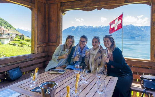 Visite des vins de Lausanne et Montreux