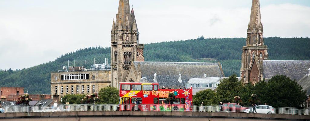 Hop-on-Hop-off-Bustour durch Inverness