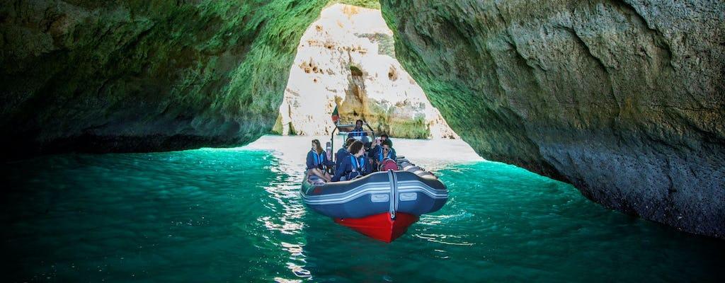 Jaskinie Benagil i wycieczka po delfinach