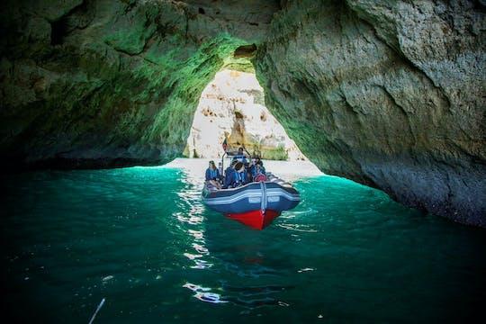 Tour delle grotte di Benagil e osservazione dei delfini