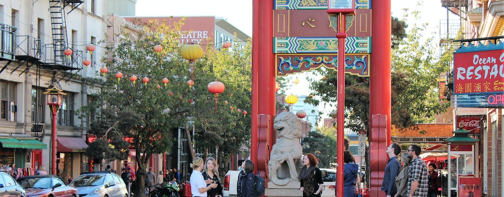 Modern Chinatown food and history tour