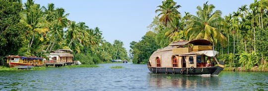 Half-day houseboat tour with lunch
