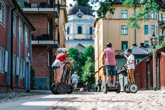 Södermalm private tour by self-balancing scooter
