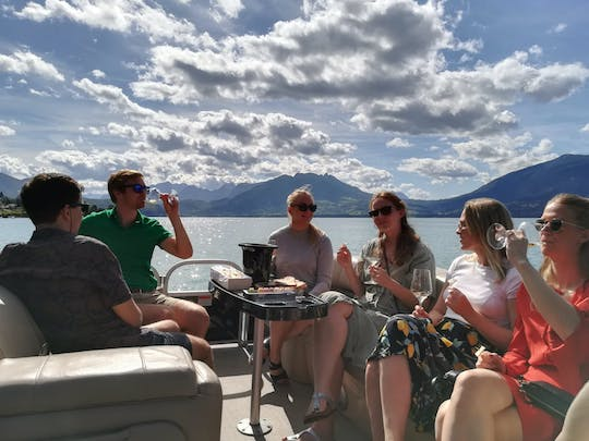 Private wine tasting cruise on the Annecy lake