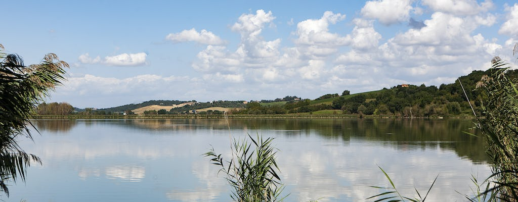 Discovery of Montepulciano Lake with food and wine tasting