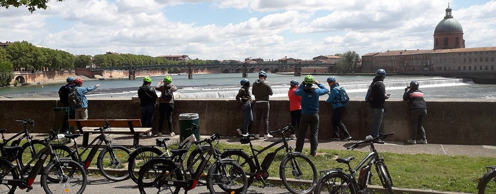 E-biketour door Toulouse