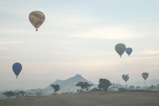 Полет на воздушном шаре в Джайпуре