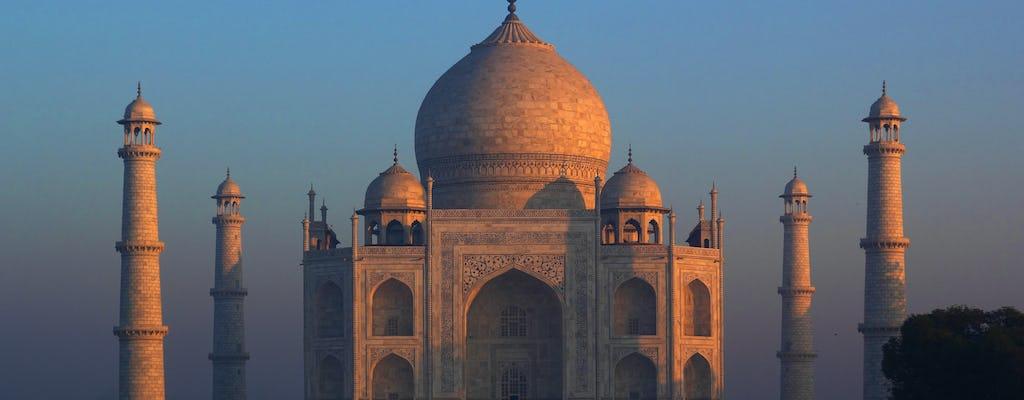 Visita matutina al Taj Mahal