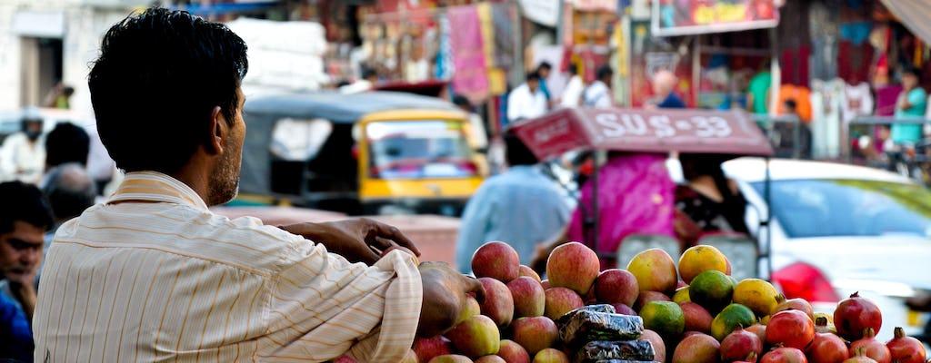 Eettour door de oude stad van Jaipur