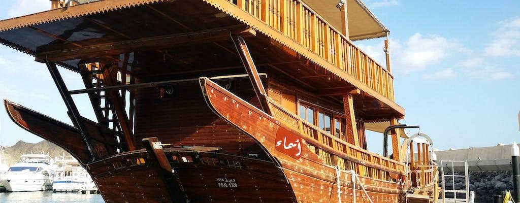 Crucero dhow tradicional con traslado