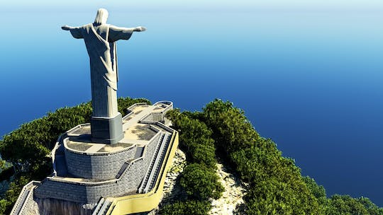 Combo tour Rio by day - Corcovado, Christ Redeemer,  and Sugarloaf with lunch and Ginga Tropical show