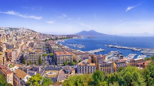 Walking gourmet food tour in Naples