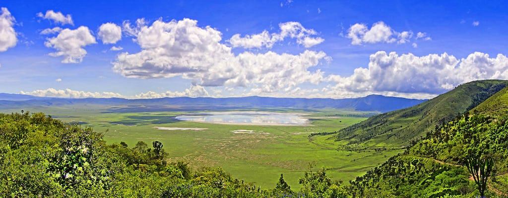 Ngorongoro Crater  3-day safari from Kilimanjaro
