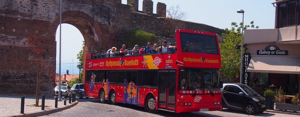 Excursão de ônibus hop-on hop-off de Thessaloniki