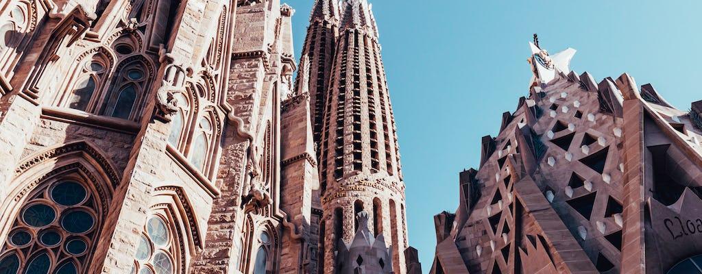 Tour salta fila privato della Sagrada Familia al tramonto
