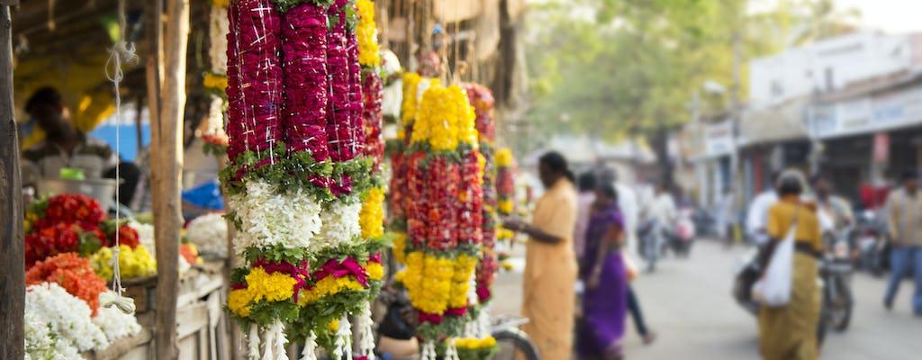 Tour del mercato dei fiori e del ponte Howrah