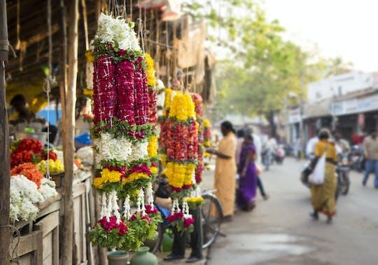 Mercado das flores e passeio pela ponte de Howrah