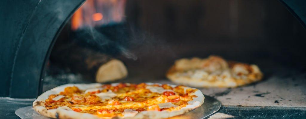 Приготовления пиццы и дегустация вин в Римской сельской местности