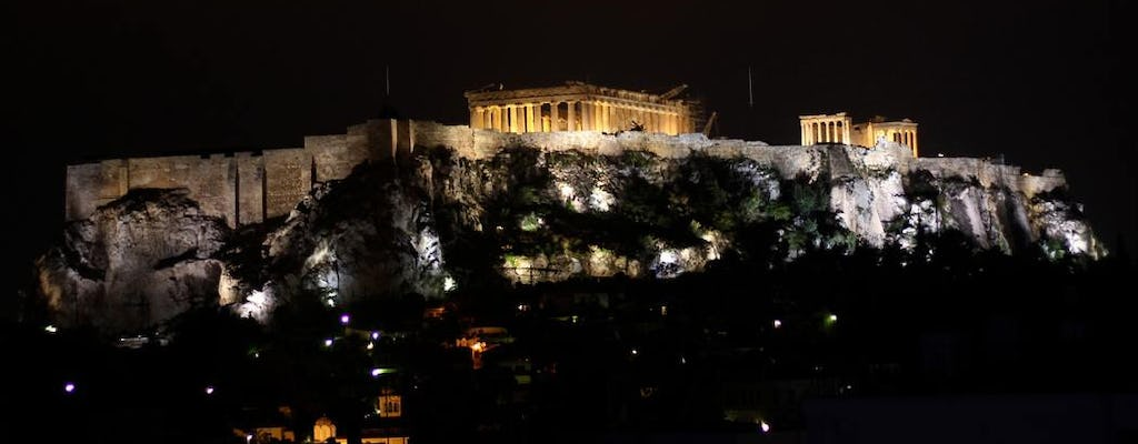 Athens by night food tour and wine tasting