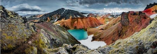 Excursão de um dia a Landmannalaugar pérola das terras altas