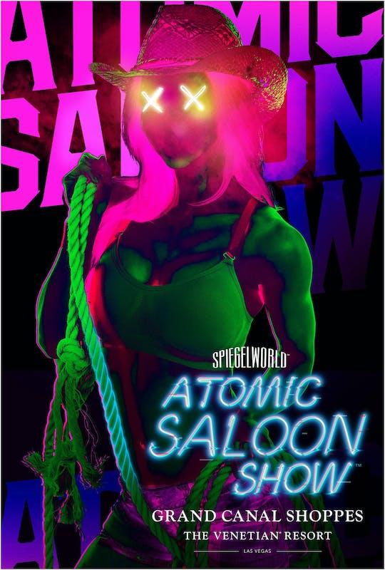 Entradas para el espectáculo Atomic Saloon