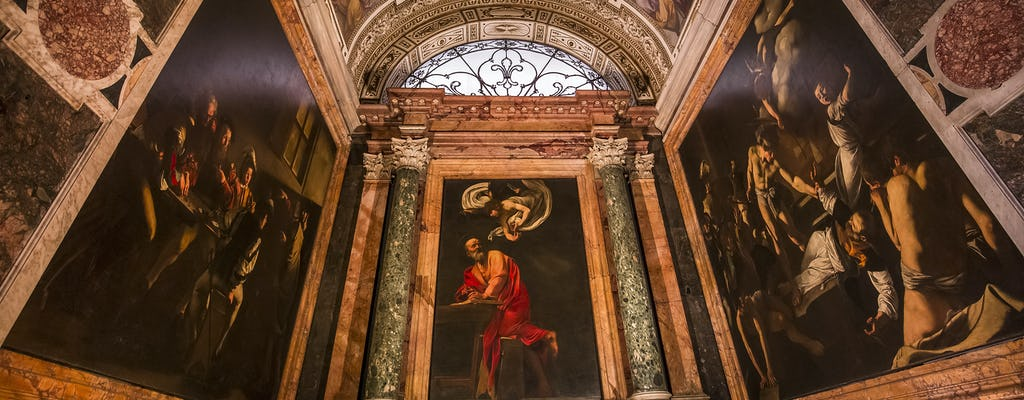 Caravaggio's Rome guided tour