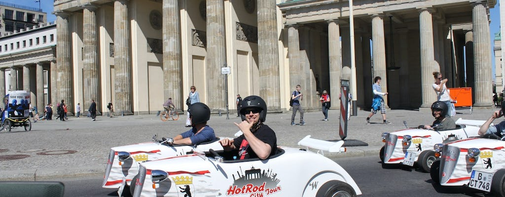80-minute hotrod tour through Berlin