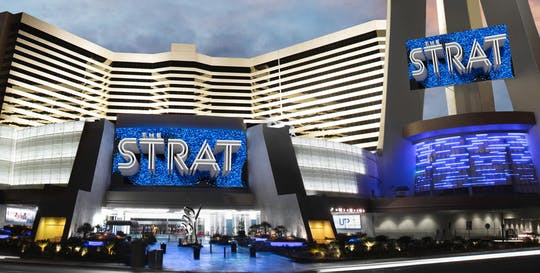 Stratosphere Casino, Hotel & Tower: Observation Deck and Thrill Rides