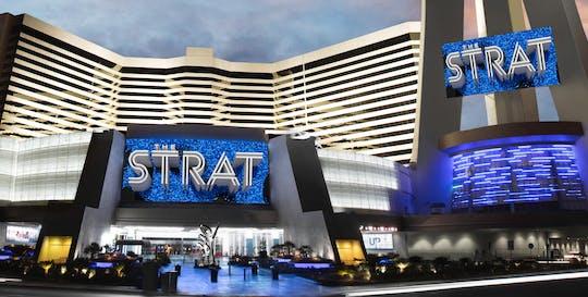 Stratosphere Casino, Hotel & Tower: Taras widokowy i ekscytujące przejażdżki