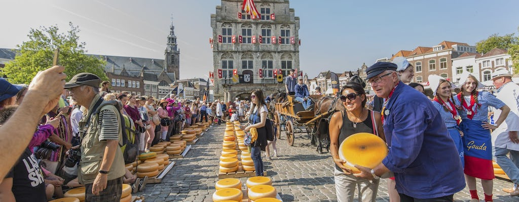 Half-day cheese market tour in Alkmaar from Amsterdam