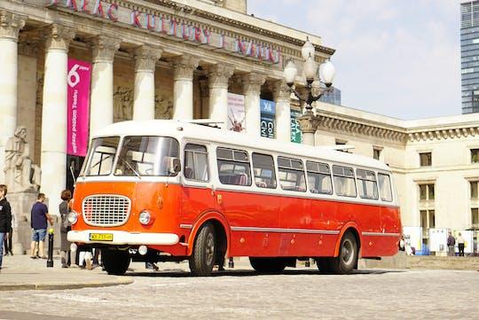 Warsaw retro bus tour to Praga district