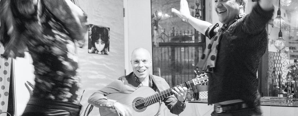 Испанские тапас и фламенко жить в Чикаго западной стороне