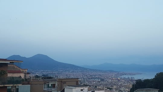 Fresh pasta cooking class and dinner with a view in Naples