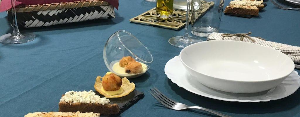 Cozy Italian and Spanish fusion dinner in La Latina