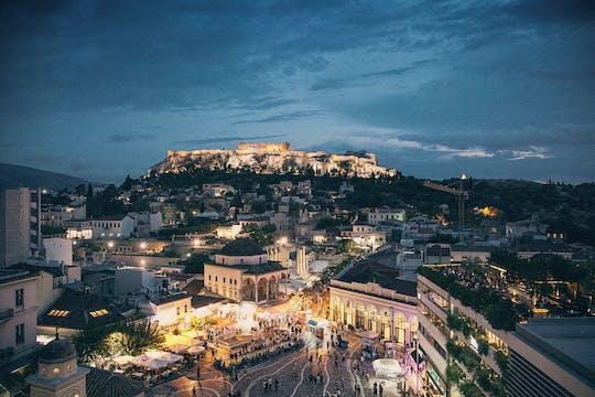 Prove o passeio gastronômico de Atenas e jantar com um anfitrião local