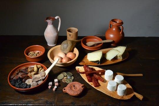Visita a las catacumbas y fiesta romana antigua con los lugareños