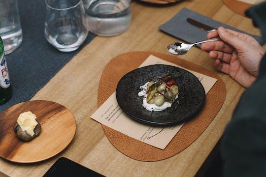 Innovative Sustainable Tasting Menu in Hackney