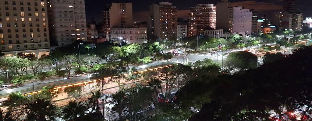 Cena argentina con vista mozzafiato su 9 de Julio Avenue