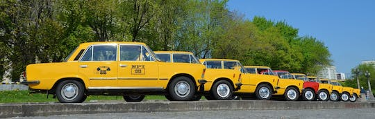 Warsaw private must-see tour in retro Fiat