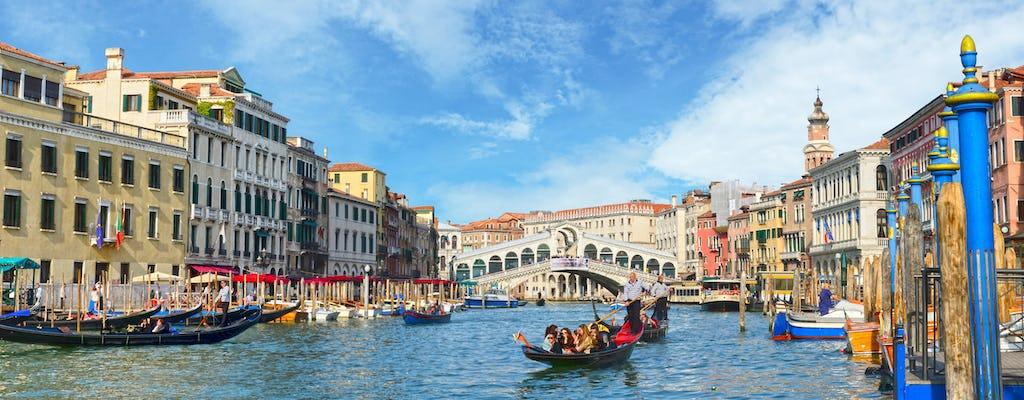 Tour a pie por Venecia y mini crucero