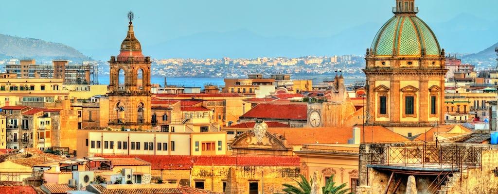 Passeio a pé dos artesãos antigos de Palermo