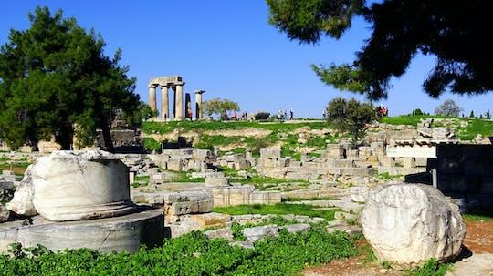 Visite de l'ancienne Corinthe et de Némée