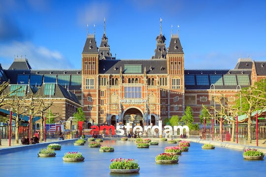 Rijksmuseum entrance ticket and private audio tour by mobile app