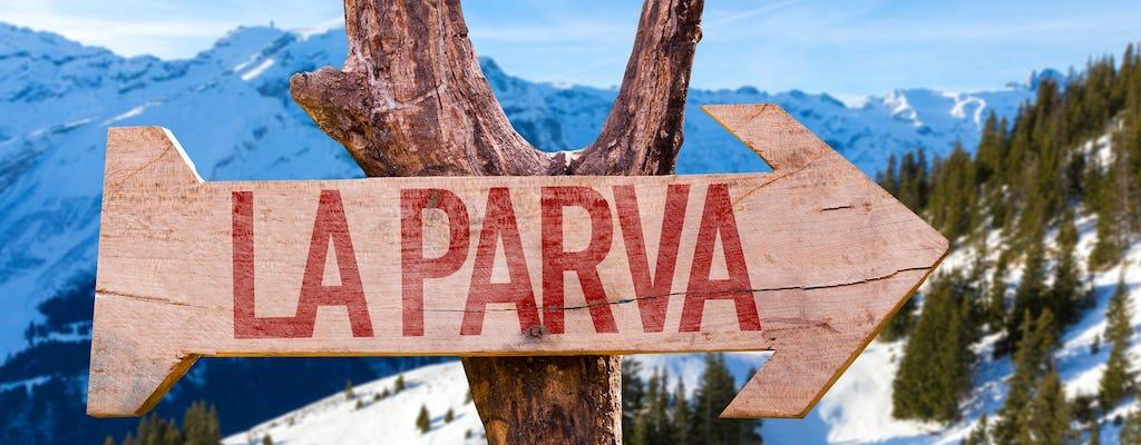Для начинающих горнолыжный тур с занятиями на курорт Ла Парва