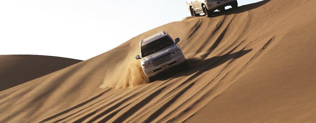 Safari de meio dia no deserto de Abu Dhabi