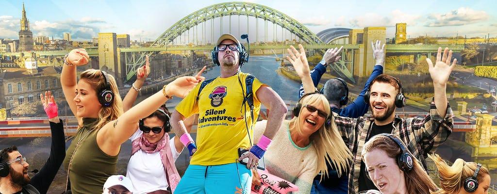 Uma aventura de discoteca silenciosa em Newcastle