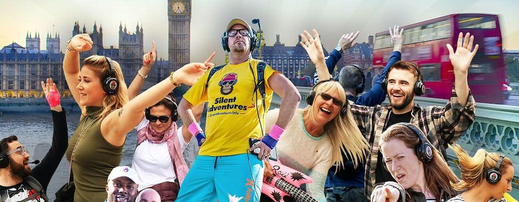 Una aventura disco silenciosa en Londres