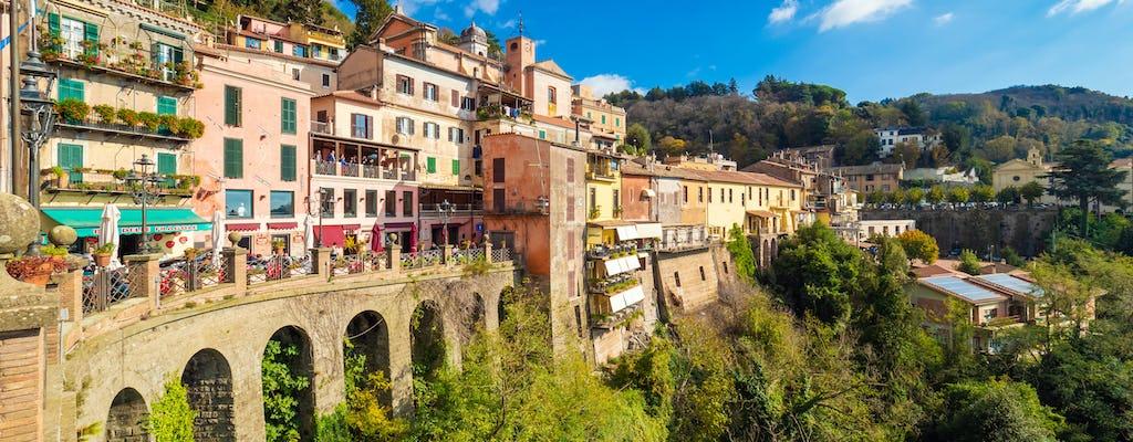 Tour Castelli Romani con almuerzo y cata de vinos.
