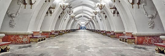 Moscow Metro private tour with hotel pick-up