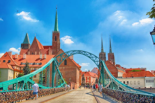 Ostrow Tumski and Old Town highlights private walking tour in Wroclaw